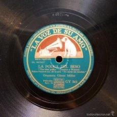 Discos de pizarra: GLENN MILLER - LA POLKA DEL BESO / SUCEDIÓ EN SUN VALLEY. Lote 58255250