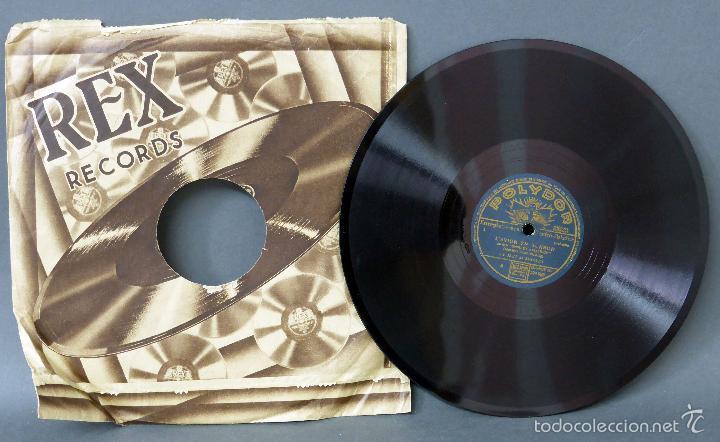 LE JAZZ DE SHIRLEY L AVION EN BONBON LE PETIT COLONEL DISCO PIZARRA POLYDOR (Música - Discos - Pizarra - Bandas Sonoras y Actores )