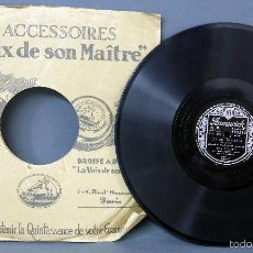 Discos de pizarra: BING CROSBY LET ME WHISPER MEXICALI ROSE DISCO PIZARRA BRUNSWICK . Lote 58293626