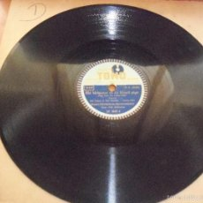 Discos de pizarra: DISCO DE PIZZARA DE SID TEPPERS & RAY BRODKY (FOXTROT). JEAN VILLARD (SLOWFOX).. Lote 58323270