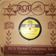 Discos de pizarra: HARRY HORLICK . DERECHO VIEJO / POEMA. M.G.M. EDICION U.S.A. PIZARRA. Lote 58369484
