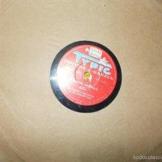 Discos de pizarra: ORCHESTRE BACHICHA. ASERRIN, ASERRAN / MAIPU. TYPIC. EDICION FRANCESA. PIZARRA. Lote 58369516