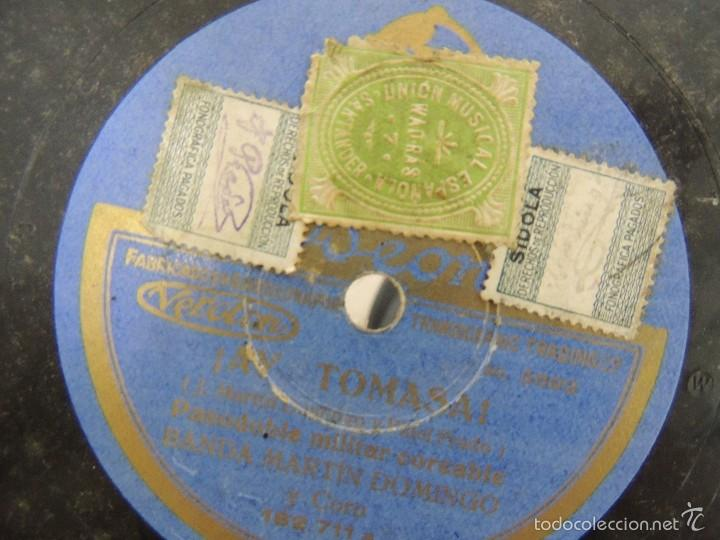 Discos de pizarra: DISCO PIZARRA ODEON YO QUIERO VER CHICAGO 1929 - Foto 2 - 58374733