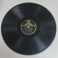 Discos de pizarra: DISCO DE GRAMOFONO. ODEON. FRANCISCO CANARO - OJOS VERDES / UNO. Lote 58461976