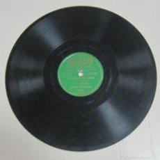 Discos de pizarra: DISCO DE GRAMOFONO. SEECO SERIE UNIVERSAL. LEO MARINI - ASI COMO TU CREES / EN LA PALMA DE LA MANO. Lote 58462028