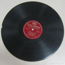 Discos de pizarra: DISCO DE GRAMOFONO. COLUMBIA. DAVID LAMA - CANDILEJAS / CANCION DEL MOLINO ROJO. Lote 58462063