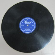 Discos de pizarra: DISCO DE GRAMOFONO. PANART. TRIO LUISITO PLA - EL ORGANO ESTA DE MODA / ARRIVEDERCI ROMA. Lote 58462159
