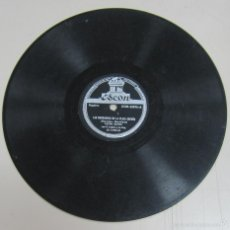 Discos de pizarra: DISCO DE GRAMOFONO. ODEON. LUCHO GATICA - LAS MUCHACHAS DE LA PLAZA ESPAÑA / BESAME MUCHO. Lote 58462245