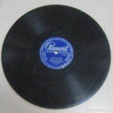 Discos de pizarra: DISCO DE GRAMOFONO. PANART. ORQUESTA ORESTES SANTOS - EL BAILE DE LA NARI / VOLVER ATRAS. Lote 58463284