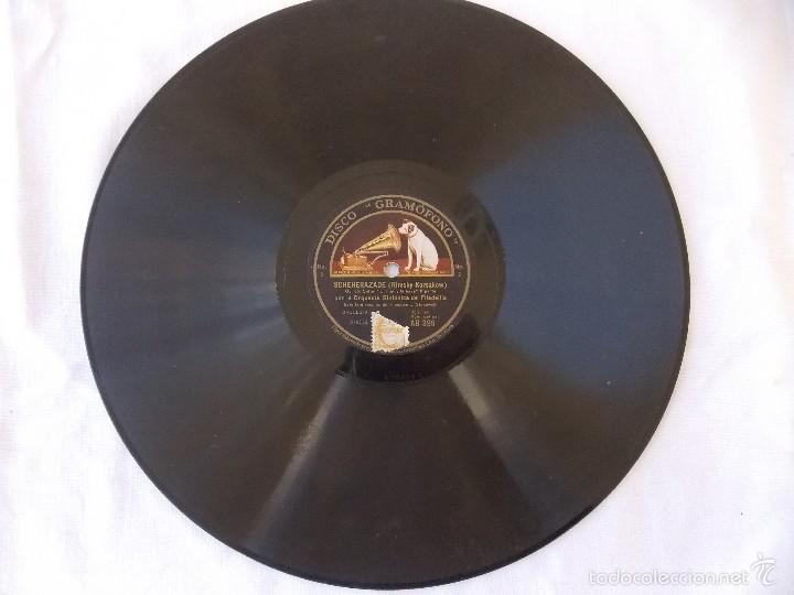 Discos de pizarra: disco pizarra para gramófono orquesta sinfonia Filadelfia - Gramophone disco - Foto 3 - 58638886