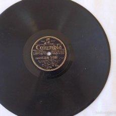Discos de pizarra: DISCO PIZARRA PARA GRAMÓFONO ZIMMERMANN - COLUMBIA. Lote 58639248