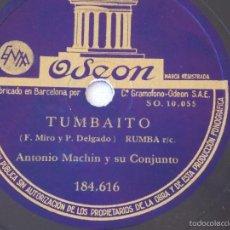 Discos de pizarra: DISCO PIZARRA PARA GRAMÓFONO MICHEL PEGURI - ODEON. Lote 58639579