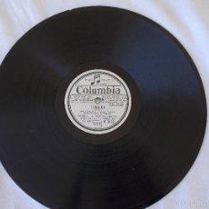 Discos de pizarra: DISCO PIZARRA PARA GRAMÓFONO PASO DOBLE - COLUMBIA. Lote 58639726