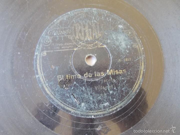Discos de pizarra: disco pizarra para gramófono - Foto 2 - 58639812