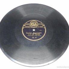 Discos de pizarra: DISCO PIZARRA NIÑO MARCHENA, FANDANGUILLOS, ACOMP. GUITARRA NIÑO RICARDO RS 741, CANTOS REGIONALES, . Lote 59242750
