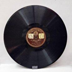 Discos de pizarra: DISCO DE PIZARRA DE IMPERIO ARGENTINA. MI CABALLO MURIO Y BLANCA FLOR.. Lote 60287719