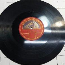 Discos de pizarra: ANTIGUO DISCO DE PIZARRA PARA GRAMOFONO MIGUEL FLETA -RARO. Lote 60295007