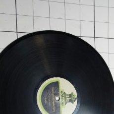 Discos de pizarra: ANTIGUO DISCO DE PIZARRA PARA GRAMOLA VENTRÍLOCUO SANZ MUY RARO. Lote 60296997