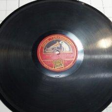 Discos de pizarra: ANTIGUO DISCO DE PIZARRA PARA GRAMOLA MIGUEL FLETA. Lote 60298085