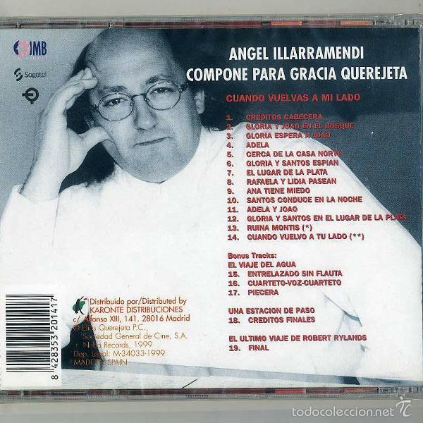 Discos de pizarra: Ángel Illarramendi – Cuando Vuelvas A Mi Lado / CD NUEVO PRECINTADO Ángel Illarramendi - Foto 2 - 60847943