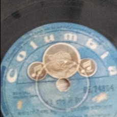 Discos de pizarra: DISCO GRAMOFONO DE MADE EN INDIA. Lote 60968787
