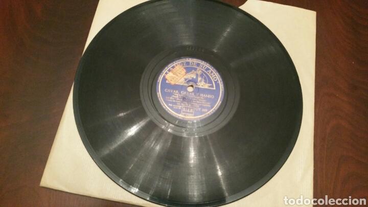 Discos de pizarra: WALT DISNEY. Disco de pizarra para Gramófono (B. Nieves y los 7 enanos). CANCIONES ORIGINALES. - Foto 2 - 62467876