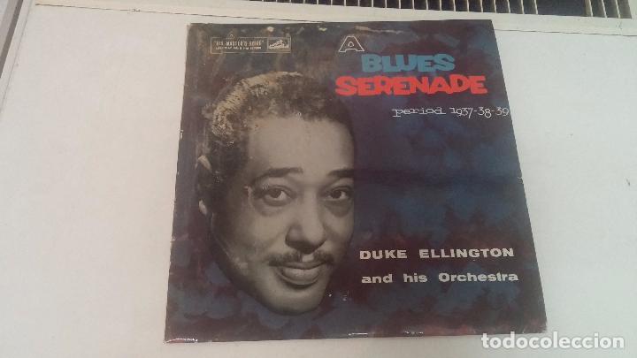 DUKE ELLINGTON, AUNQUE LA CARATULA ESTÁ REGULAR EL DISCO ESTÁ MUY BIEN CONSERVADO (Música - Discos - Pizarra - Jazz, Blues, R&B, Soul y Gospel)