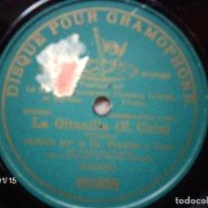 Discos de pizarra: STA PERALES Y CORO - LA GITANILLA (VILLANCICO) DISCO DE 10 PULGADAS Y GRABACIÓN EN SOLO 1 CARA. Lote 62720376