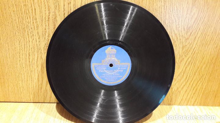 Discos de pizarra: PIZARRA !! MANUEL VALLEJO. FANDANGO GITANO / FANDANGO NUEVO / SELLO ODEON - 25 CM / BC. - Foto 3 - 62907548