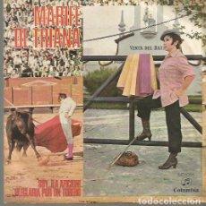 Discos de pizarra: MARIFE DE TRIANA SINGLE SELLO COLUMBIA AÑO 1970 EDITADO EN ESPAÑA . Lote 63815987