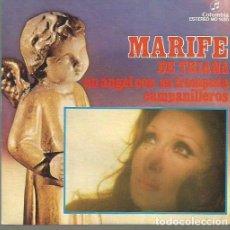 Discos de pizarra: MARIFE DE TRIANA SINGLE SELLO COLUMBIA AÑO 1974 EDITADO EN ESPAÑA . Lote 63816363