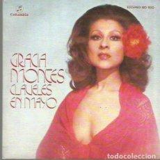 Discos de pizarra: GRACIA MONTES SINGLE SELLO COLUMBIA AÑO 1976 EDITADO EN ESPAÑA . Lote 63816499