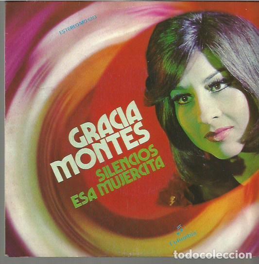 GRACIA MONTES SINGLE SELLO COLUMBIA AÑO 1972 EDITADO EN ESPAÑA (Música - Discos - Pizarra - Flamenco, Canción española y Cuplé)