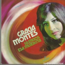 Discos de pizarra: GRACIA MONTES SINGLE SELLO COLUMBIA AÑO 1972 EDITADO EN ESPAÑA . Lote 63816547