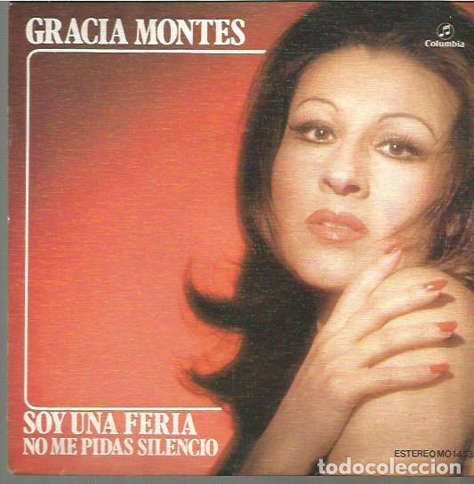 GRACIA MONTES SINGLE SELLO COLUMBIA AÑO 1974 EDITADO EN ESPAÑA (Música - Discos - Pizarra - Flamenco, Canción española y Cuplé)