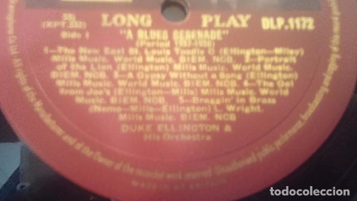 Discos de pizarra: DUKE ELLINGTON, aunque la caratula está regular el disco está muy bien conservado - Foto 8 - 62714700
