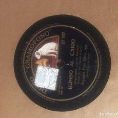 Discos de pizarra: COPEO DE MANACOR Y RUMBO AL CAIRO. EDGAR NEVILLE. VANGUARDIAS.. Lote 64732999
