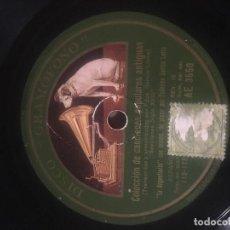 Discos de pizarra: GARCÍA LORCA AL PIANO. LOS CUATRO MULEROS Y SEVILLANAS DEL SIGLO XVIII. LA ARGENTINITA.. Lote 64733535