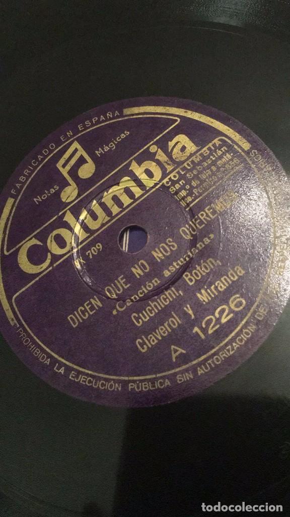 Discos de pizarra: Canción asturiana disco de pizarra - Foto 2 - 64838363