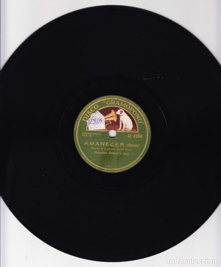 ORQUESTA DEMON'S JAZZ - AMANECER - NERVIOSA - REV 78 - PELICULA 20.000 DUROS (Música - Discos - Pizarra - Bandas Sonoras y Actores )