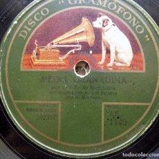 Discos de pizarra: MEDIA SEGUIDILLA , GRANADINA, NIÑO DE MARCHENA. Lote 65738134