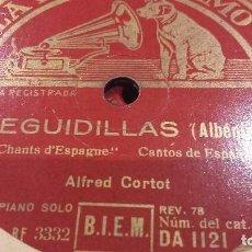 Discos de pizarra: DISCO DE PIZARRA FLAMENCO. Lote 65988746
