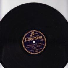 Discos de pizarra: CARMEN LA DE TRIANA - PAZ MONROY - LOS PICONEROS - ANTONIO VARGAS HEREDIA. Lote 67007178
