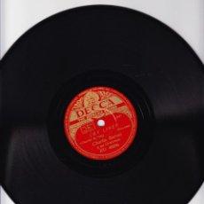 Discos de pizarra: SKY LINER - THE MOOSE - CHARLIE BARNET Y ORQUESTA - DECCA RD 40056. Lote 67013374