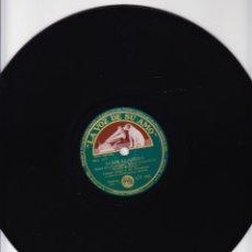 Discos de pizarra: CASAS AUGE ORQUESTA Y TRIO VOCAL HERMANAS RUSELL - ALMA LLANERA - TE QUIERO DIJISTE. Lote 67014026
