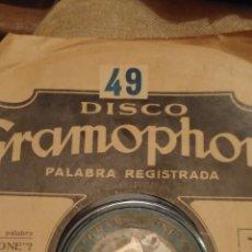 Discos de pizarra: LOTE DE DISCOS PARA GRAMOLA. Lote 67446355