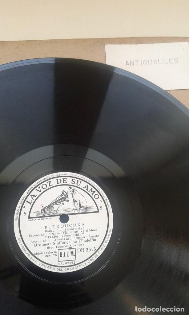 Discos de pizarra: LOTE 12 DISCOS PIZARRA 78RPM + ALBUM.LA VOZ DE SU AMO.GRAMOFONO - Foto 5 - 67670793