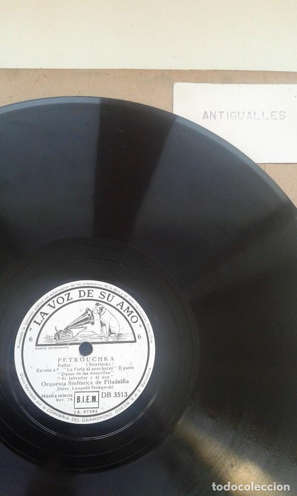 Discos de pizarra: LOTE 12 DISCOS PIZARRA 78RPM + ALBUM.LA VOZ DE SU AMO.GRAMOFONO - Foto 6 - 67670793