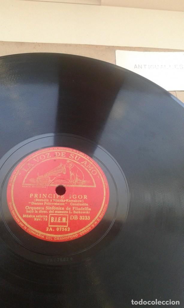Discos de pizarra: LOTE 12 DISCOS PIZARRA 78RPM + ALBUM.LA VOZ DE SU AMO.GRAMOFONO - Foto 11 - 67670793