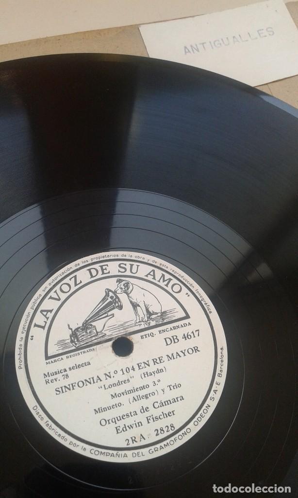 Discos de pizarra: LOTE 12 DISCOS PIZARRA 78RPM + ALBUM.LA VOZ DE SU AMO.GRAMOFONO - Foto 12 - 67670793